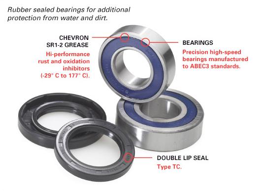 Wheel bearing seal kit